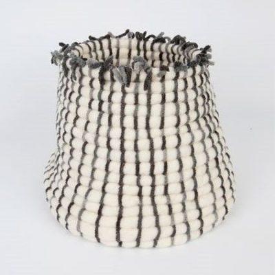 cesto artesanal de gran tamaño idoia cuesta